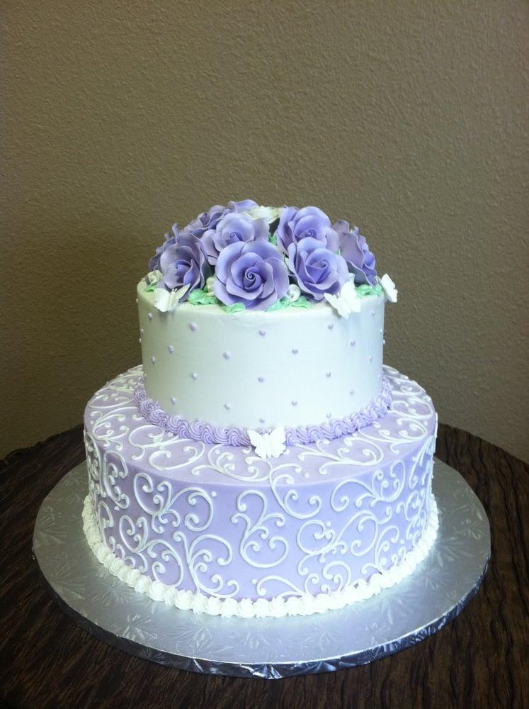 Elegant Blue Birthday Cakes elegant 80th birthday cake yelp