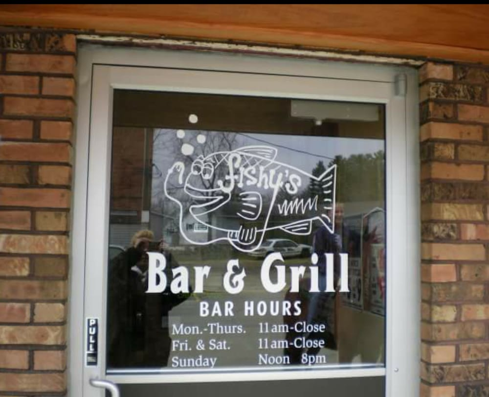 Fishy's Bar & Grill: 100 Commercial St, La Valle, WI