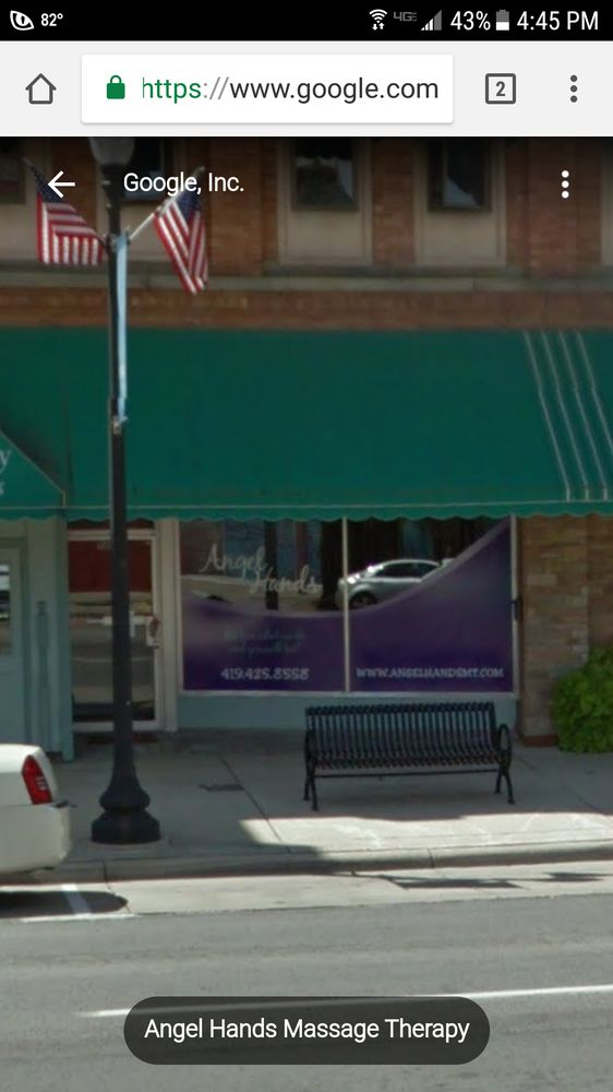 Angel Hands Massage Therapy: 110 S Main St, Findlay, OH