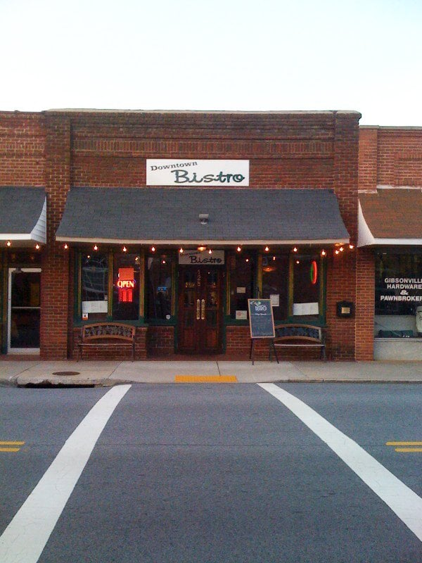 Downtown Bistro: 128 W Main St, Gibsonville, NC
