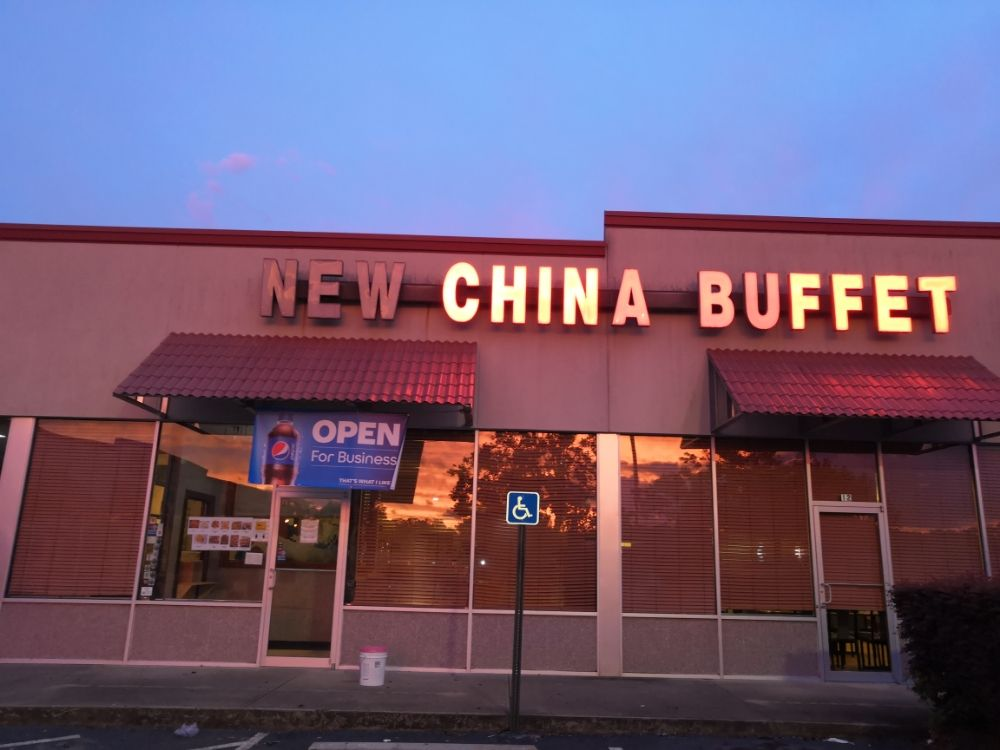 Food from New China Buffet