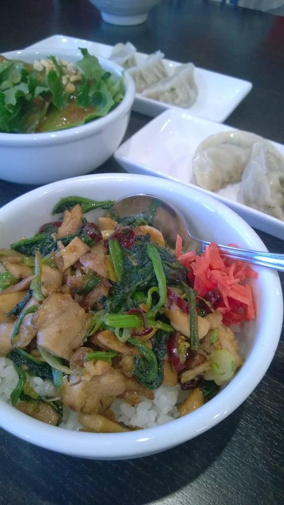 Chicken chashu don, steam and pan- fried gyoza - Yelp