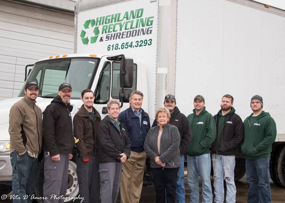 Highland Recycling & Shredding: 329 Madison St, Highland, IL