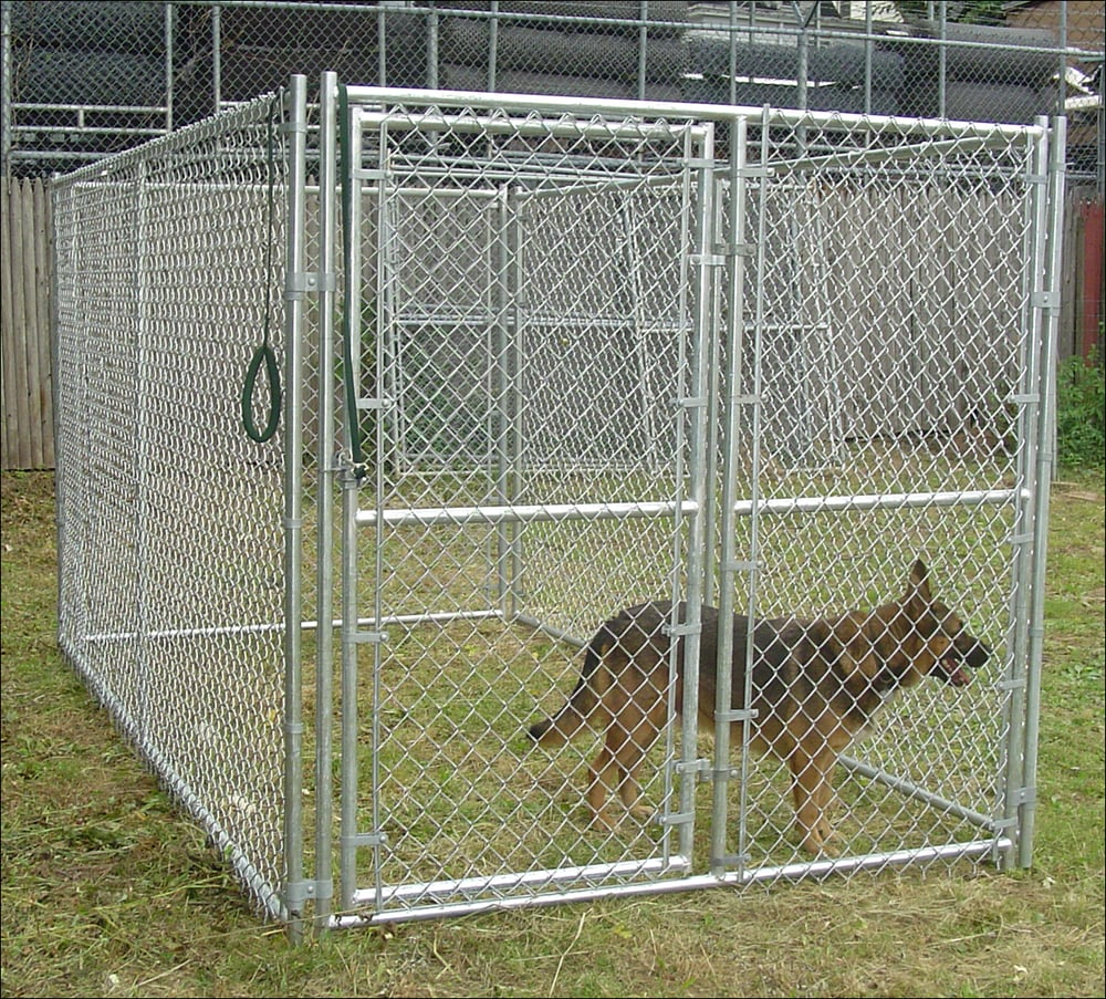 Academy Fence Dog Run Kennels Yelp