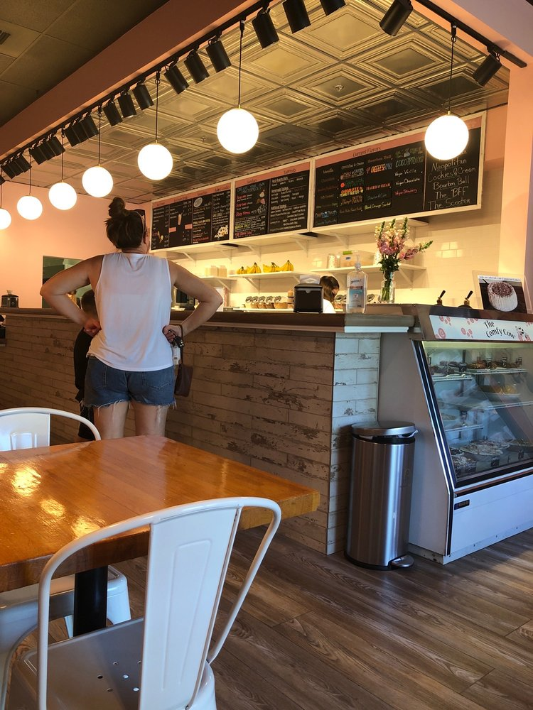 The Comfy Cow: 4005 Summit Plaza Dr, Louisville, KY