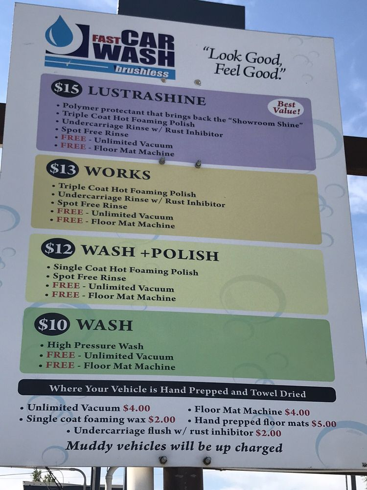 Fast Car Wash: 3000 10th Ave S, Great Falls, MT