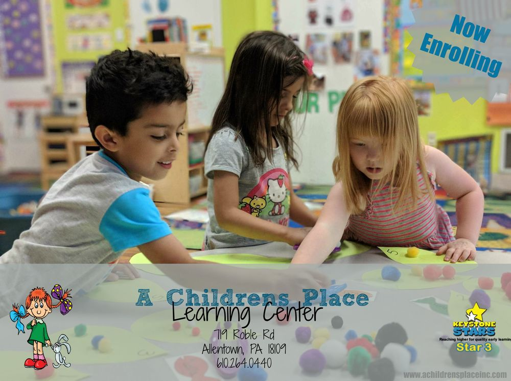 A Children's Place Learning Center: 719 Roble Rd, Allentown, PA