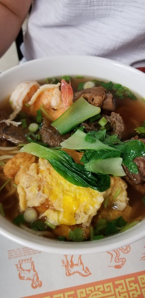 Food from Mulan Noodle Craft