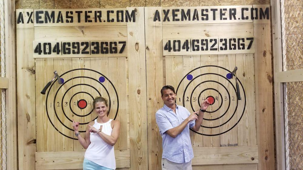 Axe Master Throwing: 225 Peachtree Industrial Blvd, Sugar Hill, GA