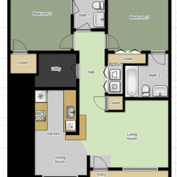 South Rock Apartments - 35 Photos - Apartments - 347 Kiester Rd ...