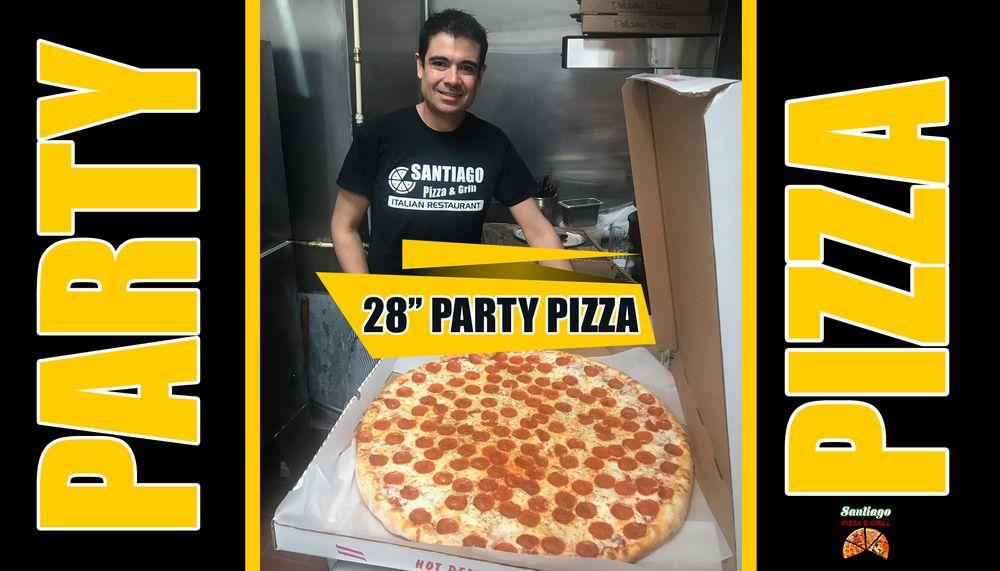 Santiago Pizza & Grill: 525 South Washington Hwy, Ashland, VA