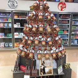 Photo of Publix - Gainesville, FL, United States. Vodka Christmas Tree!
