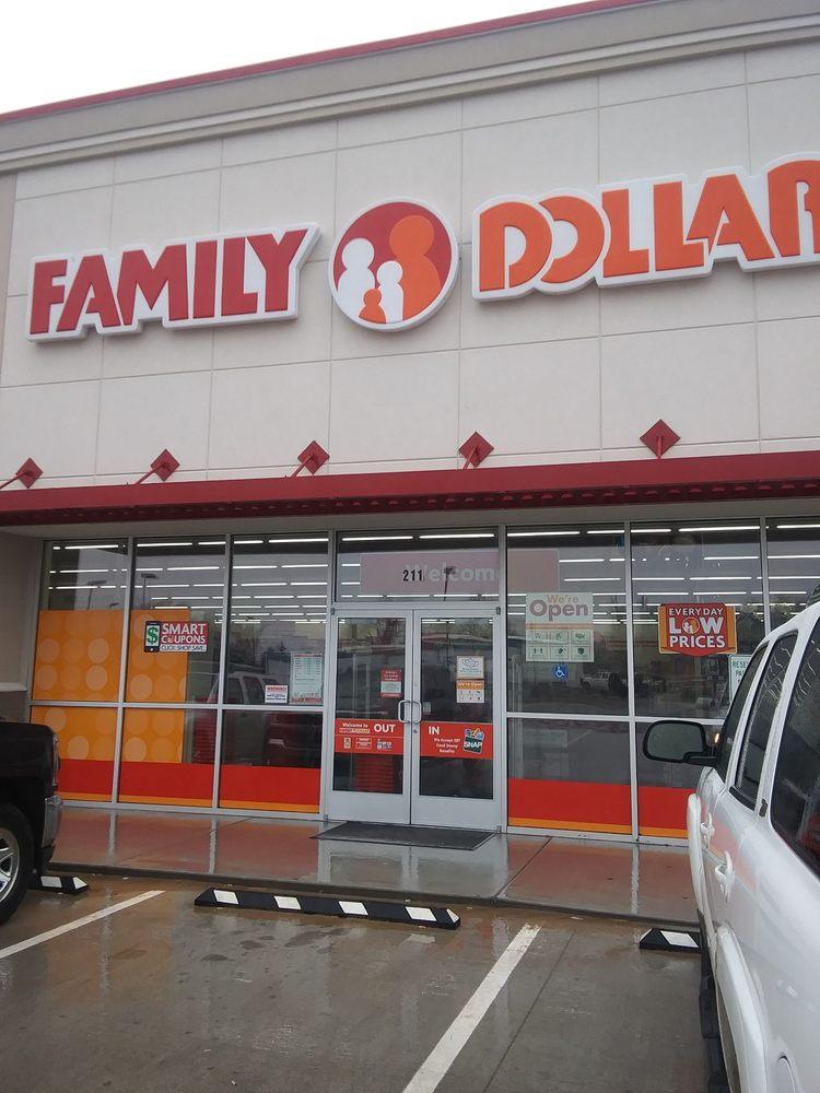 Family Dollar: 211 Russworm Dr, Watonga, OK