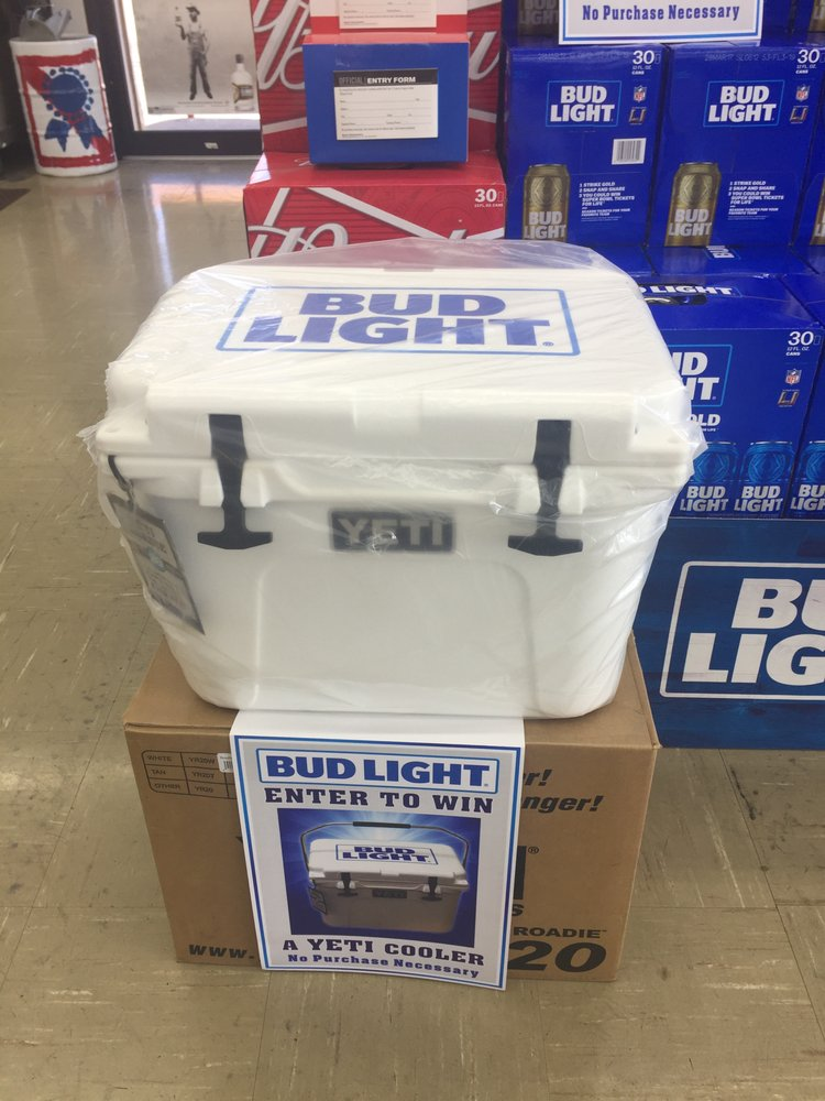 We are giving away a Bud Light Yeti cooler! - Yelp