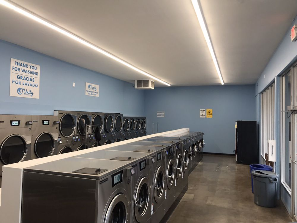 Unity Laundromat Canterbuy Square: 14305 Sw Pacific Hwy, Tigard, OR