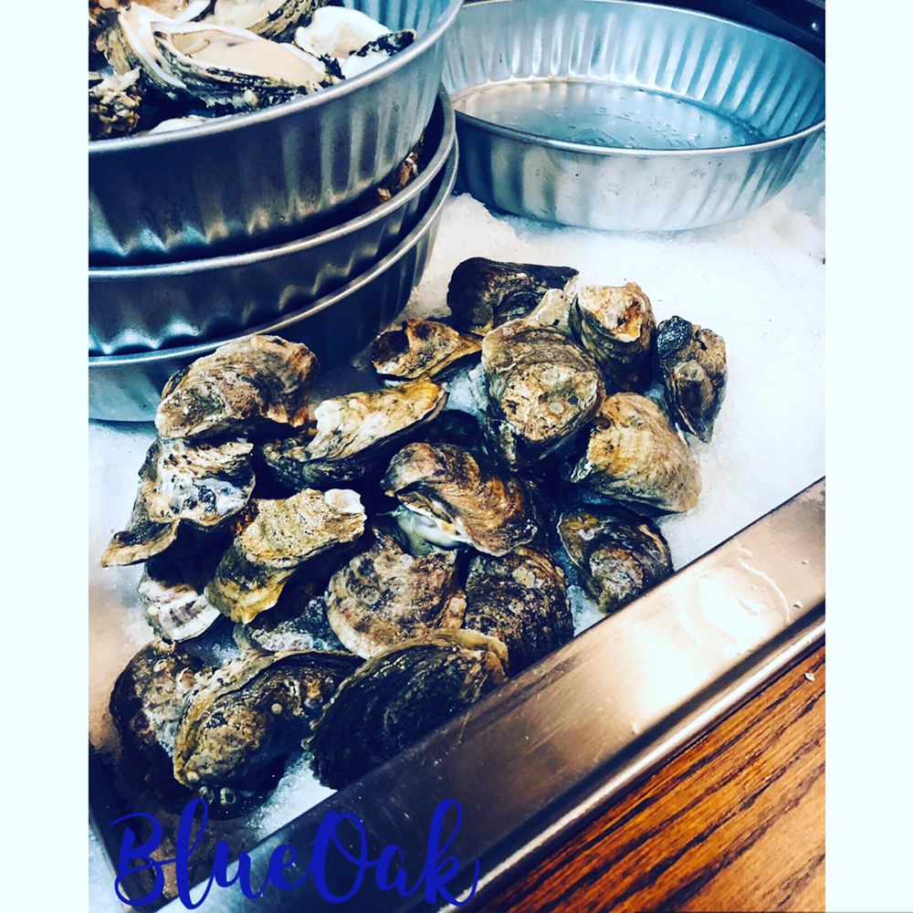 Food from Blue Oak Oyster Bar and Grill