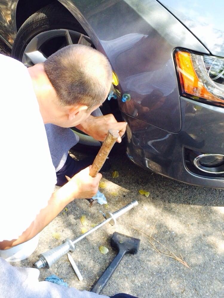 Mobile Car Dent Repair Near Me