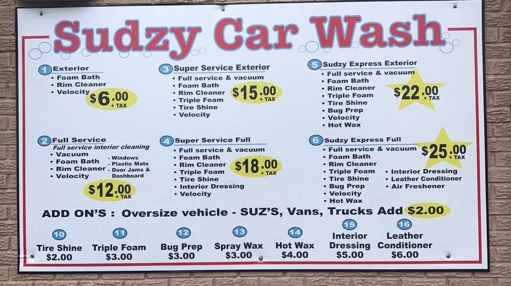 Updated Services And Prices At New Entrance Off Of 440