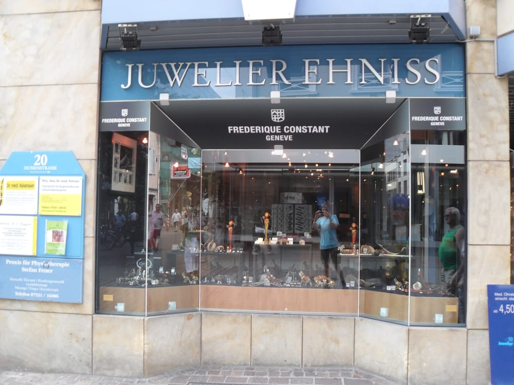 juwelier ehniss juwelier ehniss schmuck hussenstr 20 konstanz baden w rttemberg. Black Bedroom Furniture Sets. Home Design Ideas
