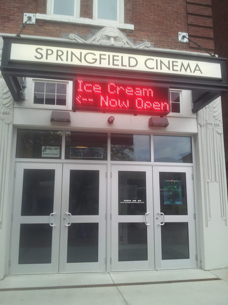 The Movie Scoop Ice Cream: 22 Main St, Springfield, VT