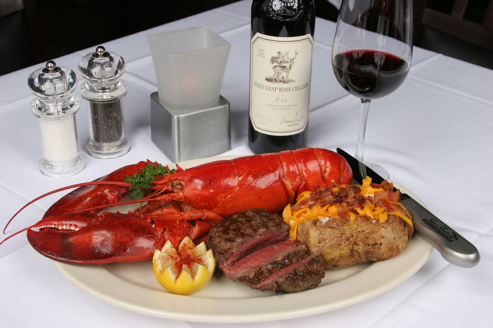 Filet Mignon & Whole Maine Lobster - Yelp