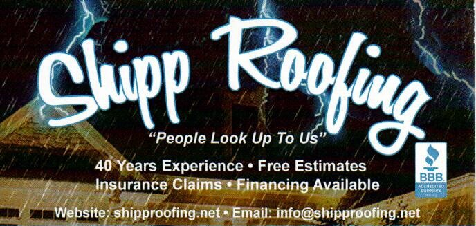 Shipp Roofing: 810 Old Dora Flat Creek Rd, Quinton, AL