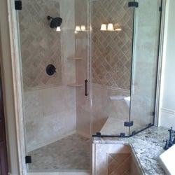 photo of alpha glass company austin tx united states frameless shower enclosure