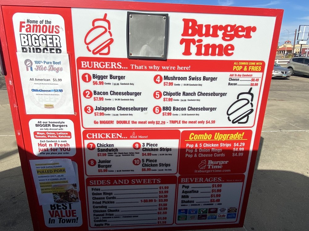 Food from Burger Time