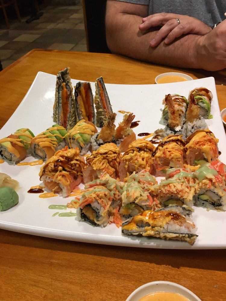 Food from Sushi Village