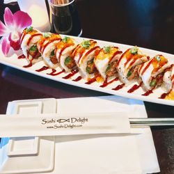 Image result for sushi delight Cali tempura roll torrance