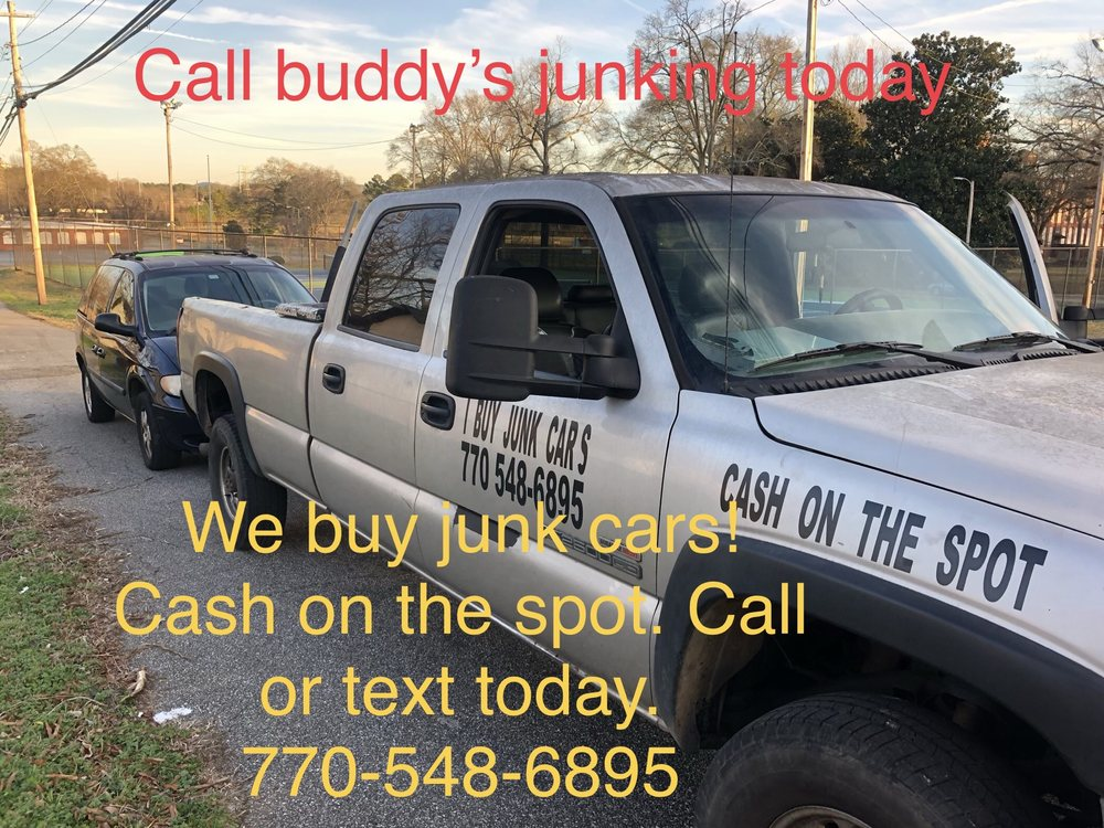 Buddy's Junking: 510 Old Tennessee Hwy, White, GA