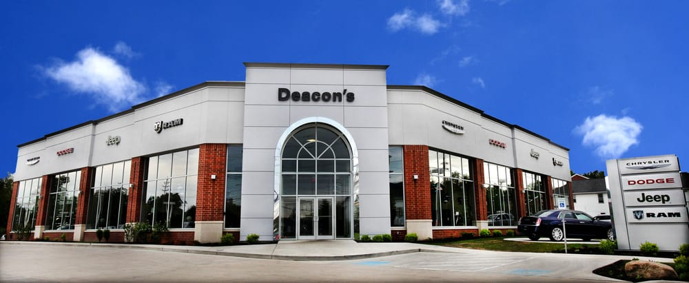 Jeep Dealers Near Me >> Deacon's Chrysler Dodge Jeep Ram - 19 Reviews - Car ...