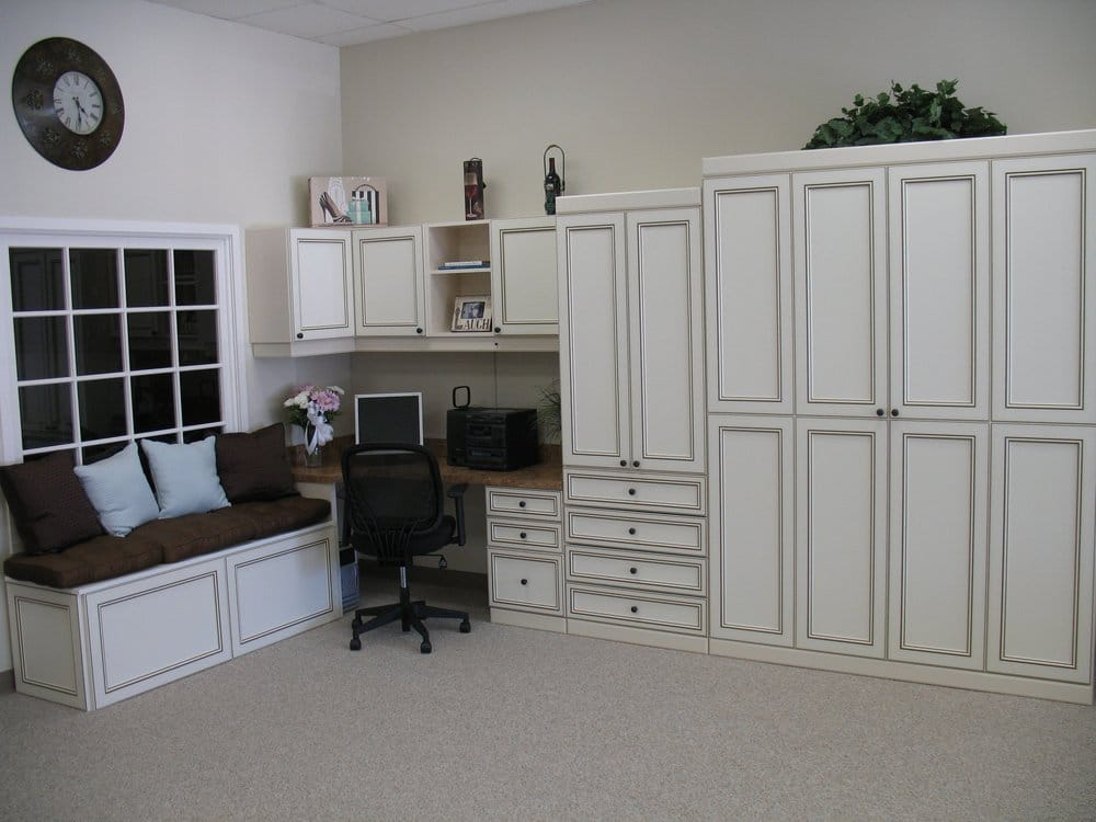 Bifold Murphy Bed Closed Home Office And Window Seat Yelp