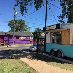 Photo of Chicken Lollypop - Austin, TX, United States. Actual location. 12 St and Chicon. Across from the Rio Rita bar.