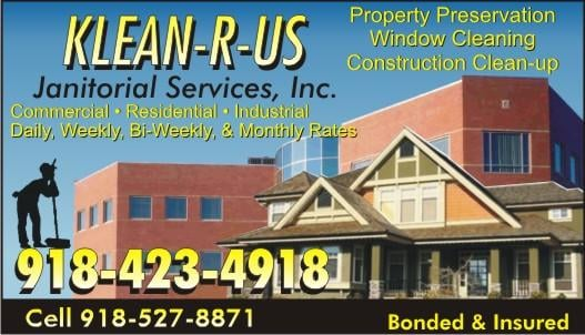 Klean-R-Us Janitorial Service: 444 S Main St, McAlester, OK