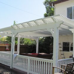 Charmant Photo Of Discount Patio Covers   Lakeside, CA, United States. White Lattice  Aluminum