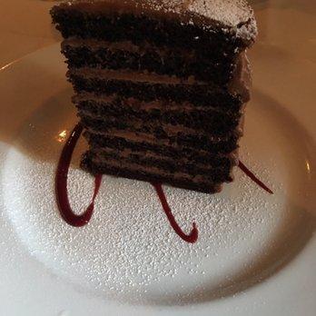 Halls Chophouse Chocolate Cake