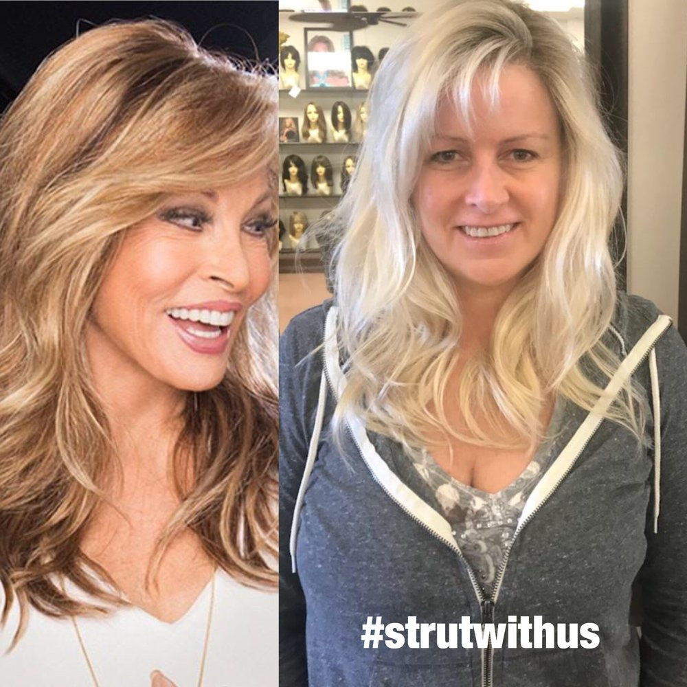 Wig By Raquel Welch Another Client Is Strutting Out Looking Her