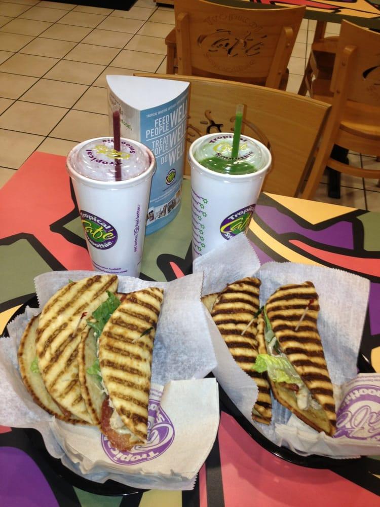 Tropical Smoothie Cafe Menu Paducah Ky