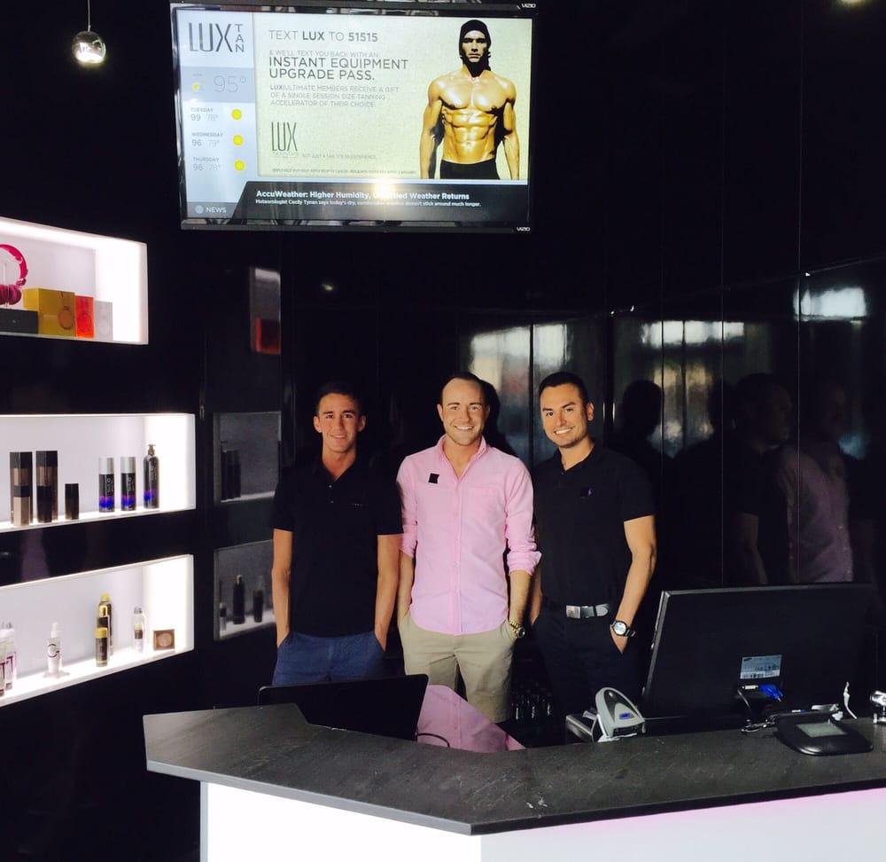 Kickass guys raymond tyler and thomas yelp for Lux salon and spa