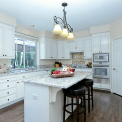 Photo Of Painting Recommended   San Jose, CA, United States. Antiqued Kitchen  Cabinets ...