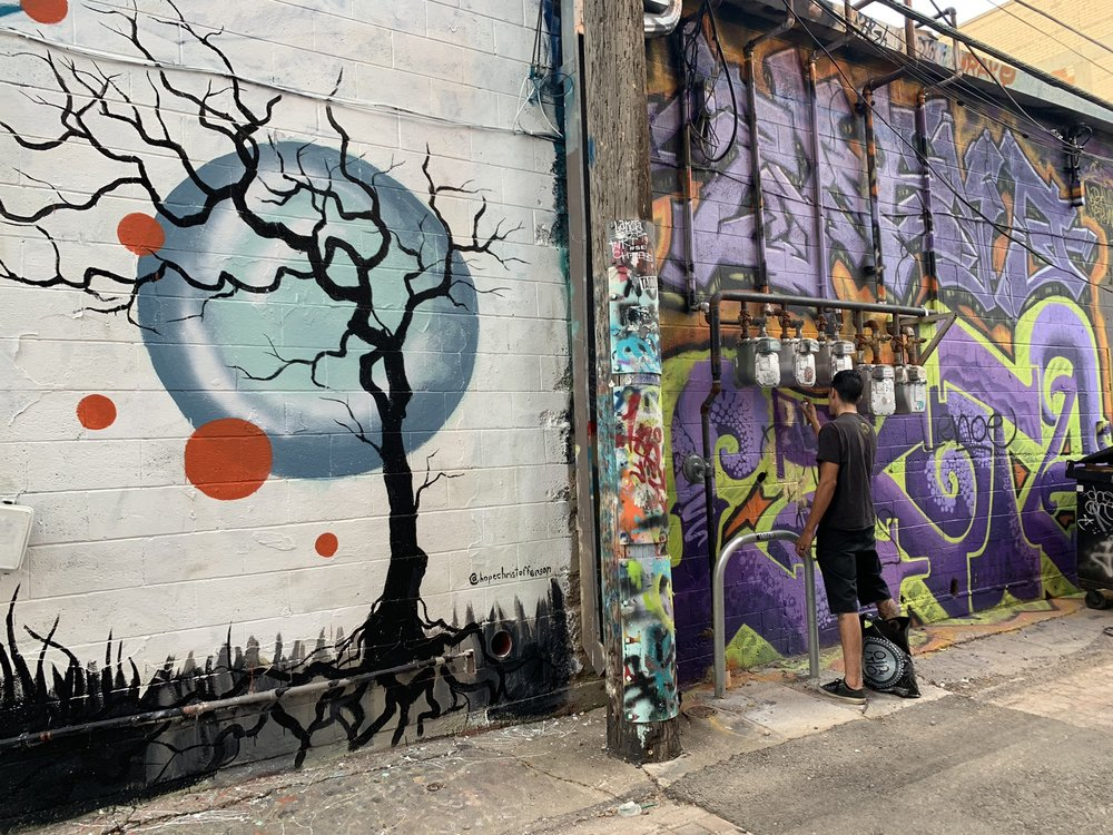 Social Spots from Art Alley Rapid City