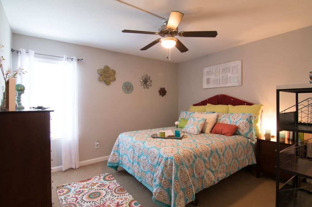Ceiling Fans Available In Our Spacious Bedrooms Yelp