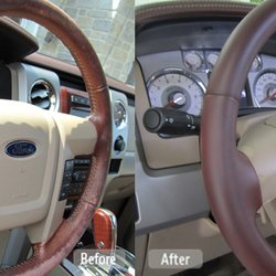 Photo Of Fibrenew Pittsburgh East   Irwin, PA, United States. Leather  Steering Wheel ...
