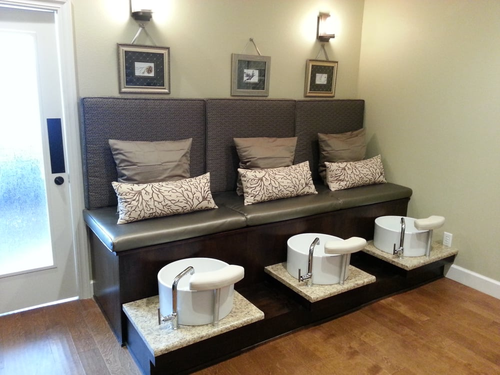 Custom pedicure bench yelp for Salon bench