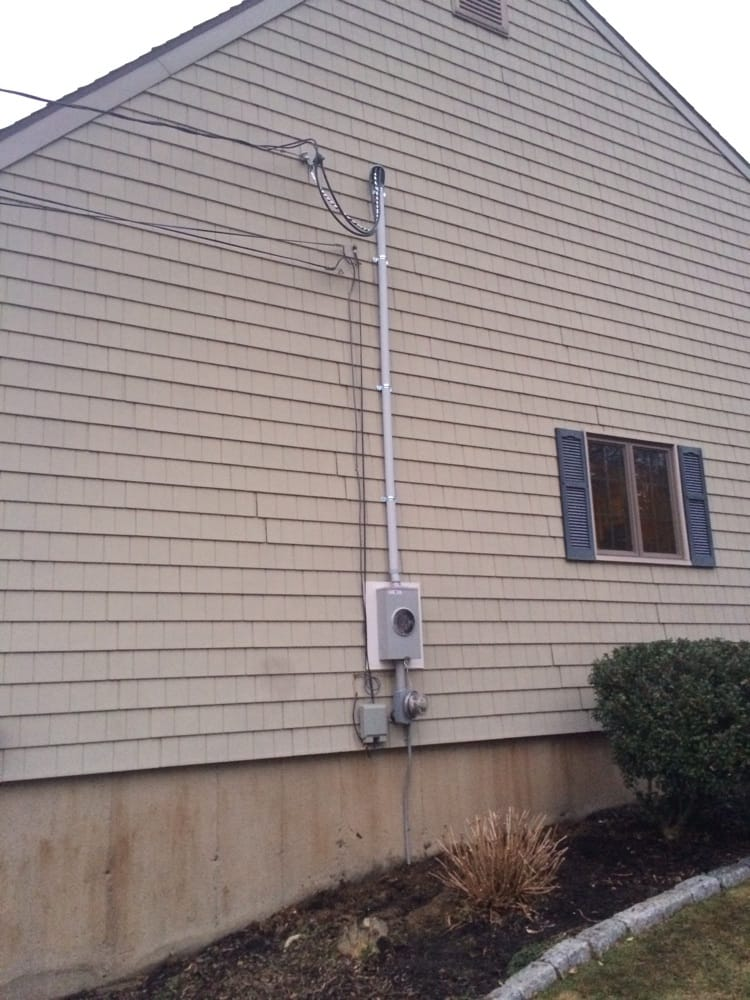 electrical siding box service mast meter box replacement in waterbury ct yelp