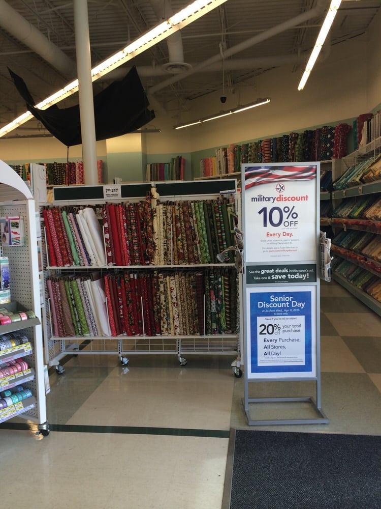 joann fabrics near me address