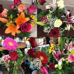 Photo of Estrella's Flower Shop - Dallas, TX, United States. Flowers on display