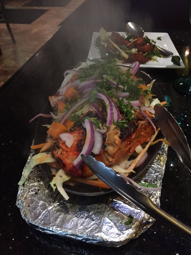Salmon tikka - Yelp