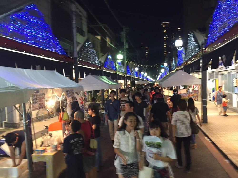 Tsukishima Nishinaka Shopping street
